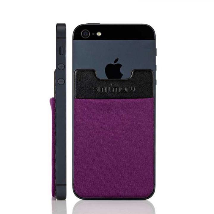 iPhone6/6 Plus ケース スマホにポケット Sinji Pouch IC バイオレット iPhone Android_0