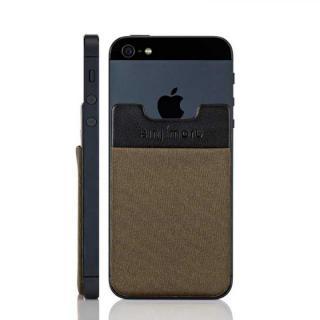スマホにポケット Sinji Pouch IC ブラウン iPhone Android