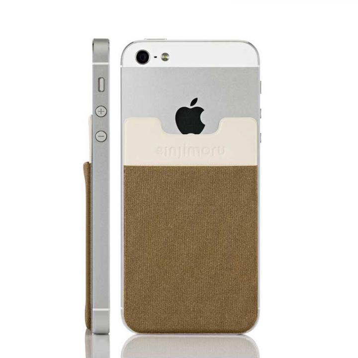 iPhone6/6 Plus ケース スマホにポケット Sinji Pouch IC ゴールド iPhone Android_0