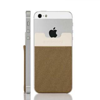 スマホにポケット Sinji Pouch IC ゴールド iPhone Android