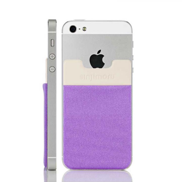 iPhone6/6 Plus ケース スマホにポケット Sinji Pouch IC ライトバイオレット iPhone Android_0