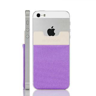 スマホにポケット Sinji Pouch IC ライトバイオレット iPhone Android