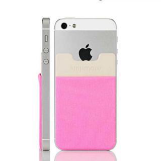 スマホにポケット Sinji Pouch IC ピンク iPhone Android