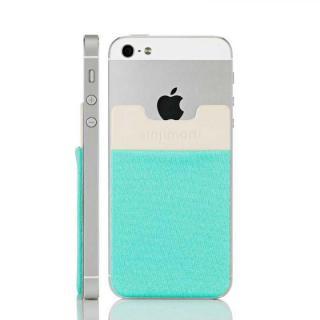 スマホにポケット Sinji Pouch IC ミント iPhone Android
