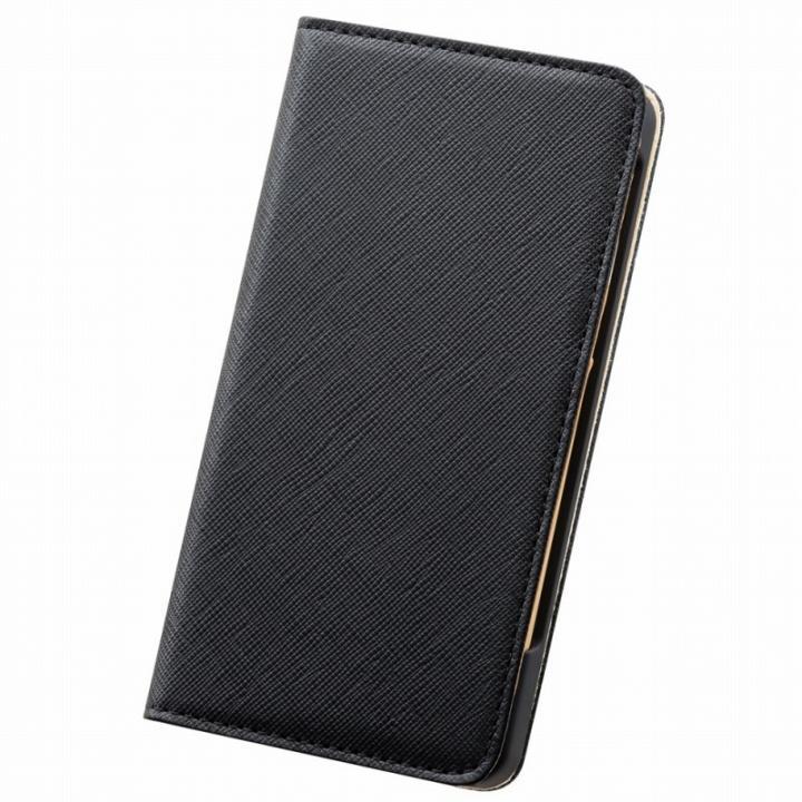 iPhone6 Plus ケース サライ 手帳型本革ケース ブラック iPhone 6 Plus_0