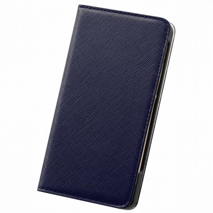 【iPhone6s/6ケース】サライ 手帳型本革ケース ネイビー iPhone 6s/6_0