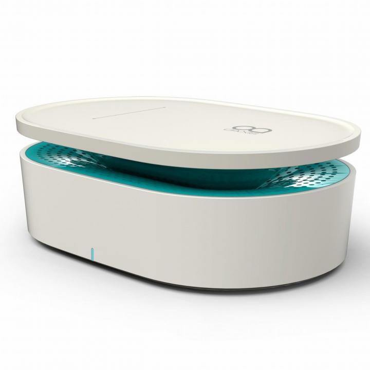 OAXIS Bento インダクションオーディオスピーカー ホワイト/グリーン_0