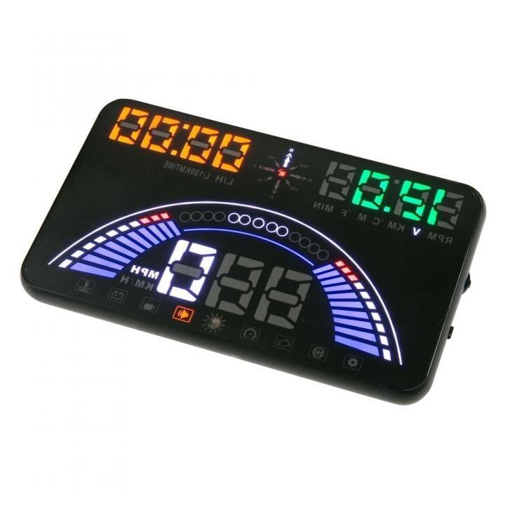 SCOSCHE HEADSUP 5.8インチ OBD/GPS 注意喚起ディスプレイ_0