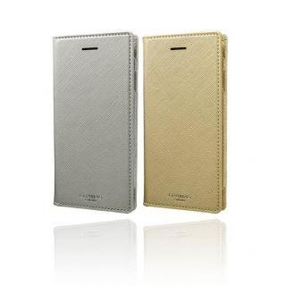 【iPhone8/7/6s/6ケース】GRAMAS COLORS Quadrifoglio PUレザー手帳型ケース シャンパンゴールド iPhone 8/7/6s/6_6