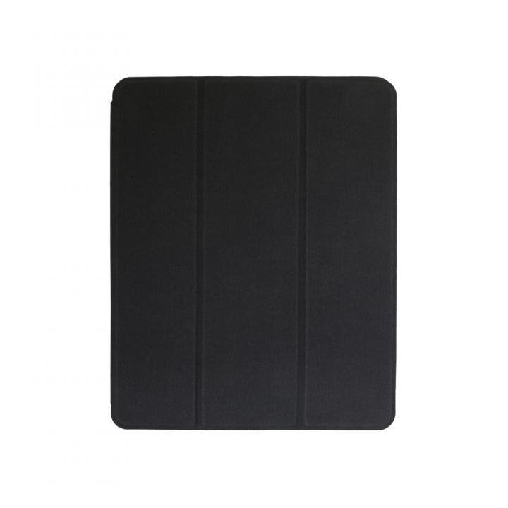 Apple Pencilを収納しながら充電できるホルダー付きケース ブラック iPad Pro 11インチ_0