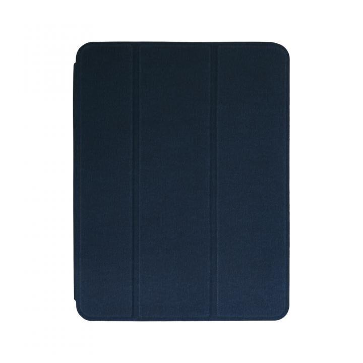 Apple Pencilを収納しながら充電できるホルダー付きケース ネイビー iPad Pro 12.9インチ_0