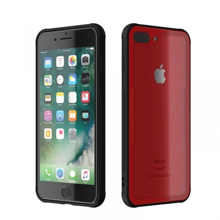 iPhone8 Plus/7 Plus ケース 背面強化ガラスケース EUREKA レッド iPhone 8 Plus/7 Plus_0
