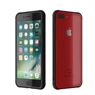 背面強化ガラスケース EUREKA レッド iPhone 8 Plus/7 Plus