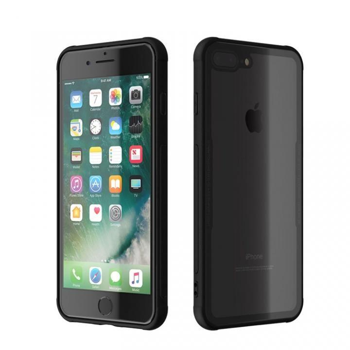 iPhone8 Plus/7 Plus ケース 背面強化ガラスケース EUREKA ブラック iPhone 8 Plus/7 Plus_0