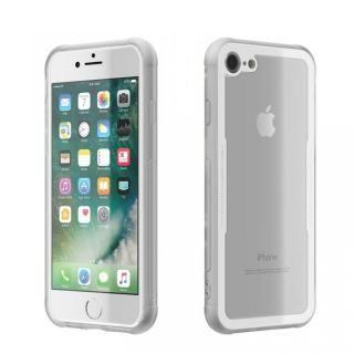 【iPhone8/7ケース】背面強化ガラスケース EUREKA ホワイト iPhone 8/7