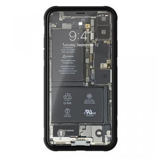 【iPhone Xケース】背面強化ガラスケース Eureka Translucent レッド iPhone X_2