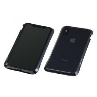 【iPhone X ケース】Deff Cleave アルミバンパー Virtue ポリッシュブラック iPhone X