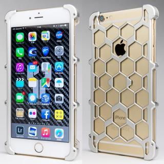 アルミ削り出し プロテクターケース シルバー iPhone 6s Plus/6 Plus
