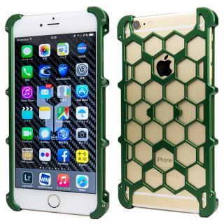 アルミ削り出し プロテクターケース グリーン iPhone 6s Plus/6 Plus