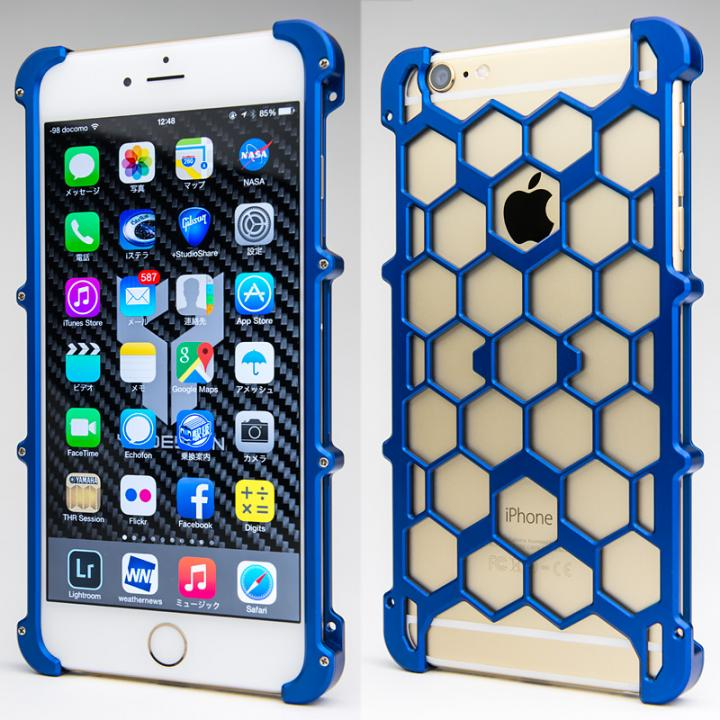 iPhone6 Plus ケース アルミ削り出し プロテクターケース ブルー iPhone 6s Plus/6 Plus_0