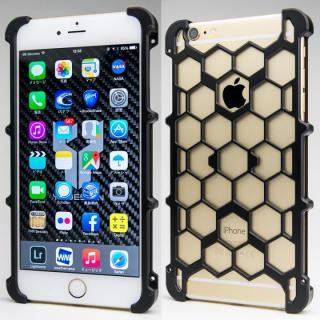 アルミ削り出し プロテクターケース ブラック iPhone 6s Plus/6 Plus