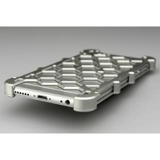 【iPhone6ケース】アルミ削り出し プロテクターケース シルバー iPhone 6s/6_1