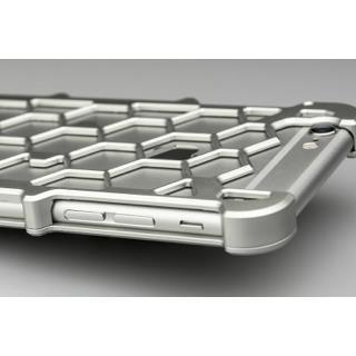 【iPhone6ケース】アルミ削り出し プロテクターケース シルバー iPhone 6s/6_2