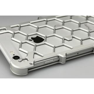 【iPhone6ケース】アルミ削り出し プロテクターケース シルバー iPhone 6s/6_3