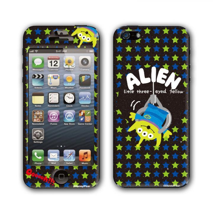 iPhone SE/5s/5 ケース Gizmobies スキンシール K.W.H POP STAR ALIEN iPhone SE/5s/5_0