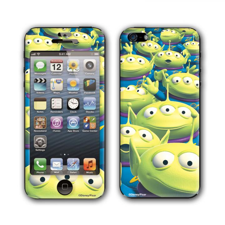 iPhone SE/5s/5 ケース Gizmobies スキンシール K.W.H ALIEN iPhone SE/5s/5スキンシール_0