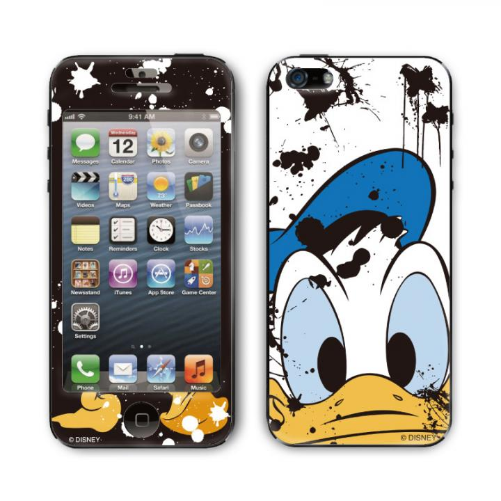 Gizmobies スキンシール ディズニー Painting Duck iPhone SE/5s/5スキンシール