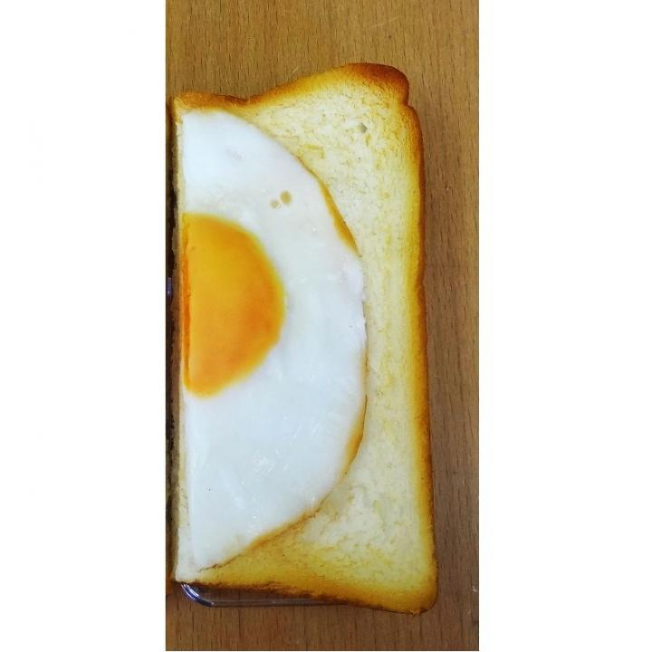 【iPhone SE/5s/5】食品サンプルケース iPhone 5 パン/右_0
