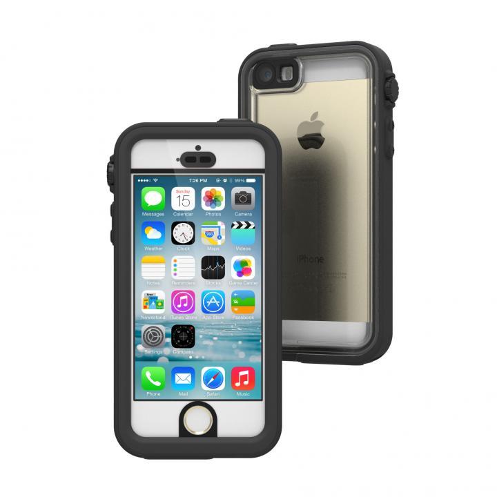 【iPhone SE/5s/5ケース】Catalyst(カタリスト) 完全防水ケース CT-WPIP13  ブラック iPhone SE/5s/5_0