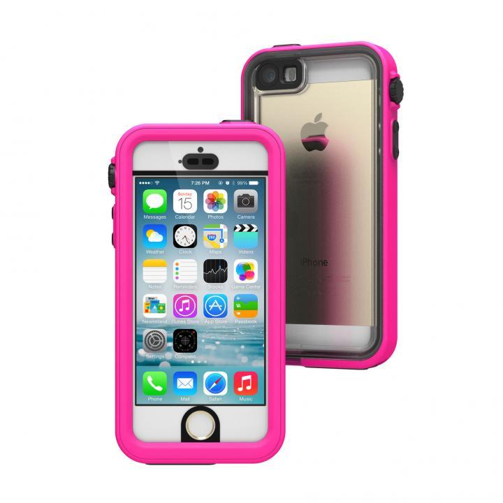 iPhone SE/5s/5 ケース Catalyst(カタリスト) 完全防水ケース CT-WPIP13  ピンク iPhone SE/5s/5_0