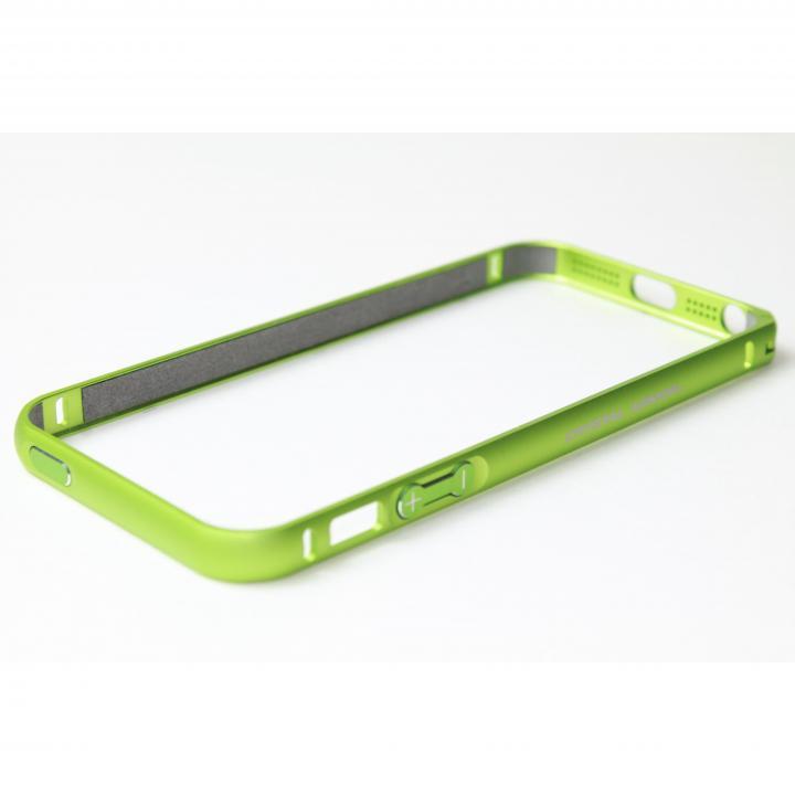 iPhone SE/5s/5 ケース クリスタルアーマー(R) メタルバンパー ライムグリーン iPhone SE/5s/5バンパー_0