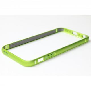 クリスタルアーマー(R) メタルバンパー ライムグリーン iPhone SE/5s/5バンパー