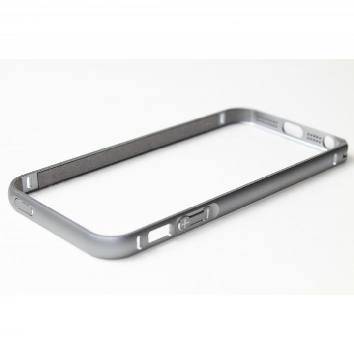 iPhone SE/5s/5 ケース クリスタルアーマー(R) メタルバンパー スペースグレイ iPhone SE/5s/5バンパー_0