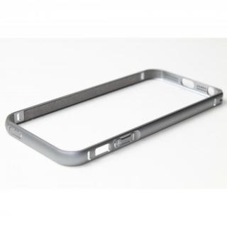 クリスタルアーマー(R) メタルバンパー スペースグレイ iPhone SE/5s/5バンパー