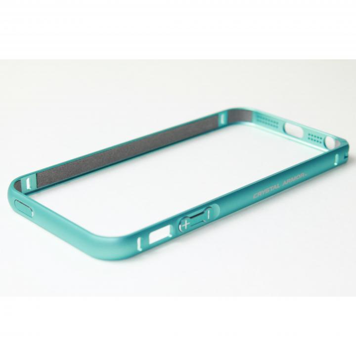 iPhone SE/5s/5 ケース クリスタルアーマー(R) メタルバンパー ライトニングブルー iPhone SE/5s/5バンパー_0