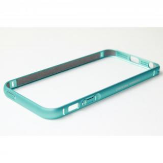 クリスタルアーマー(R) メタルバンパー ライトニングブルー iPhone SE/5s/5バンパー