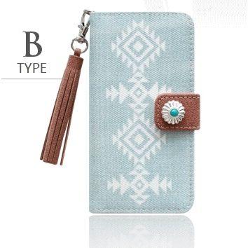 【iPhone8/7ケース】バルス ネイティブデニムケース season2 B Type iPhone 8/7_0