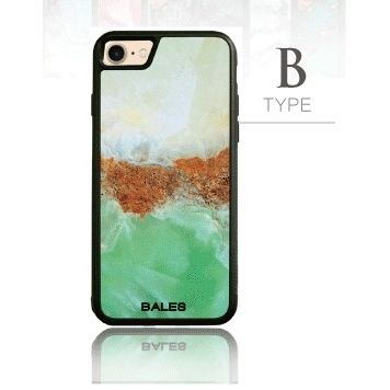 [2018新生活応援特価]バルス 大理石柄TPUケース B Type iPhone 8/7