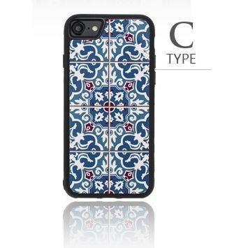 iPhone8/7 ケース バルス モロッコタイル柄TPUケース iPhone 8/7 C Type_0