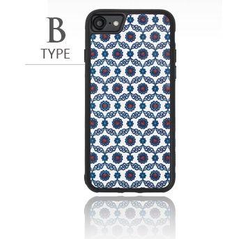 [2018新生活応援特価]バルス モロッコタイル柄TPUケース iPhone 8/7 B Type