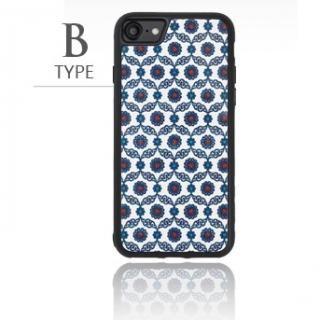 [2018バレンタイン特価]バルス モロッコタイル柄TPUケース iPhone 8/7 B Type