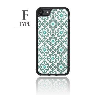 iPhone8/7 ケース バルス モロッコタイル柄TPUケース iPhone 8/7 F Type_0