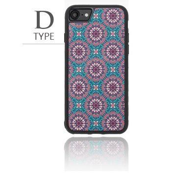 iPhone8/7 ケース バルス モロッコタイル柄TPUケース iPhone 8/7 D Type_0