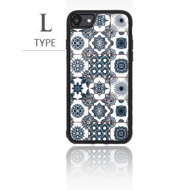 iPhone8/7 ケース バルス モロッコタイル柄TPUケース iPhone 8/7 L Type_0