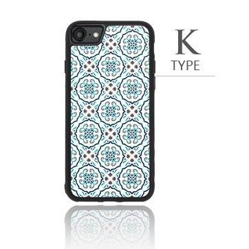 iPhone8/7 ケース バルス モロッコタイル柄TPUケース iPhone 8/7 K Type_0