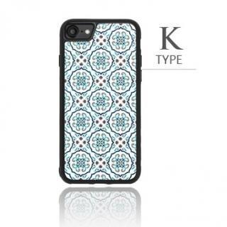 [2018新生活応援特価]バルス モロッコタイル柄TPUケース iPhone 8/7 K Type